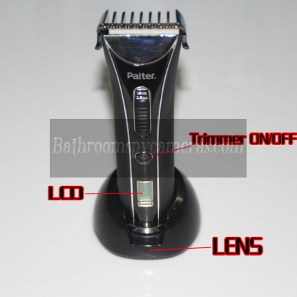 Hair Trimmer Spy Hidden Camera WaterProof HD DVR 720P 32GB Spy Camera