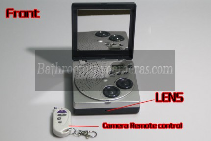 Buy Mirror Shower Radio Hidden Camera HD Shower Spy Radio 1080P 32GB Motion detection at Shower Radio Spy Camera,Bathroom Spy Camera professional shop