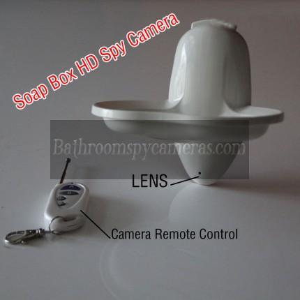 New Soap Box Bathroom Hidden Camera HD Remote Control 1080P DVR 32GB