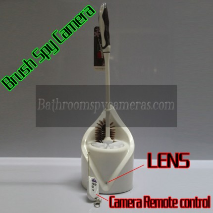 Buy Toilet Hidden Camera Brush 32GB Spy Splash 1080P HD Bathroom Spy Camera Motion Detection DVR (RC) at Toilet Brush Camera DVR,Bathroom Spy Camera shop with wholesale price