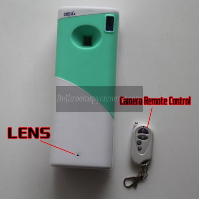 Kamera Tersembunyi Penyegar Ruangan 1080P DVR 32G HD Gerakan Diaktifkan terbaik kamera tersembunyi