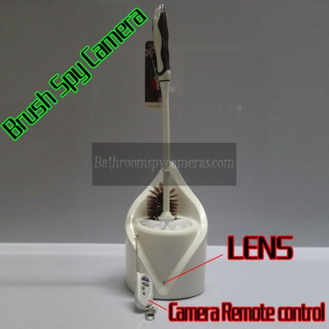 jual spy cam toilet brush 1080P DVR 32G HD Deteksi Gerakan terbaik kamera tersembunyi